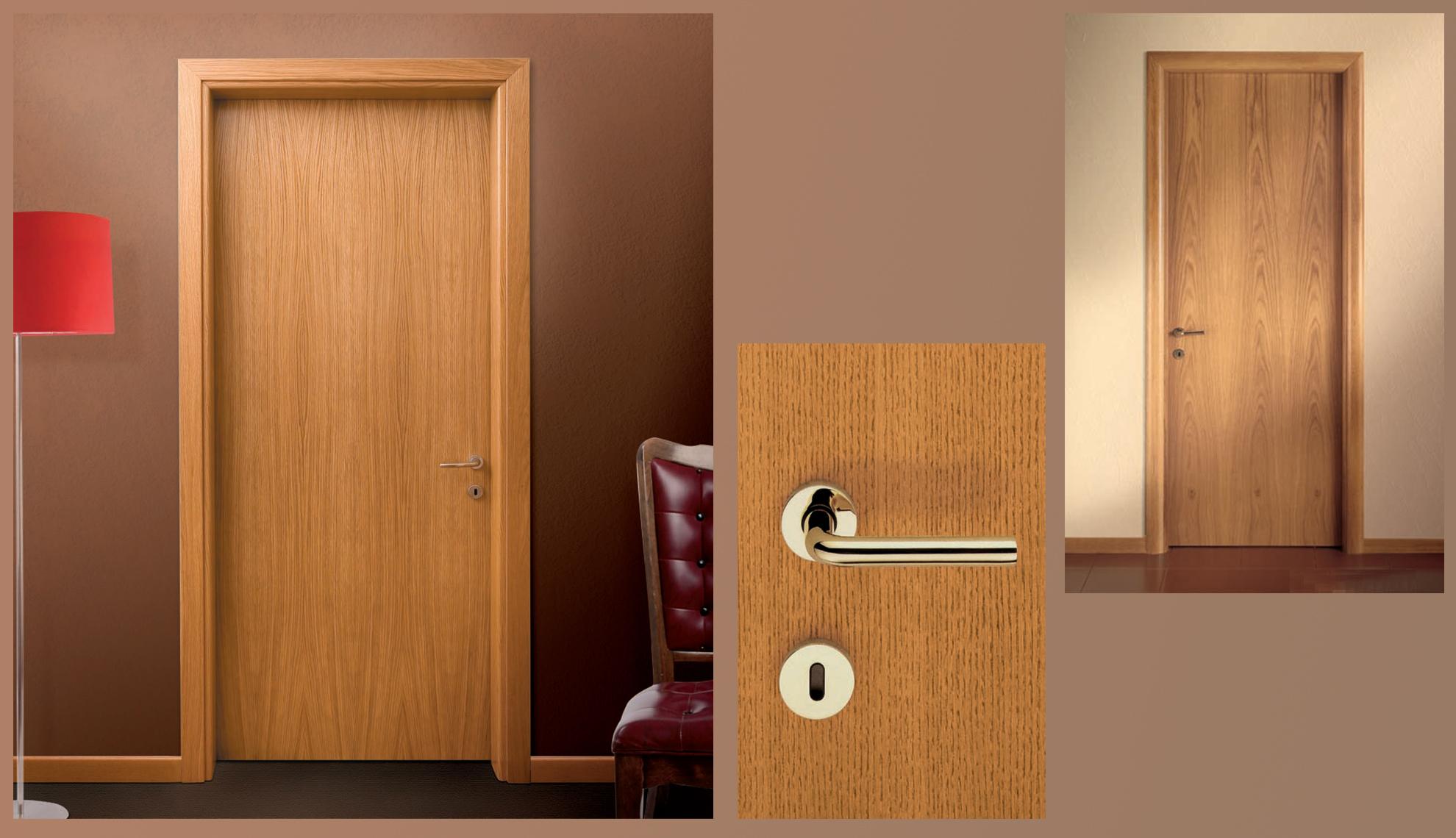 Emejing porta in legno contemporary for Porte in legno grezzo