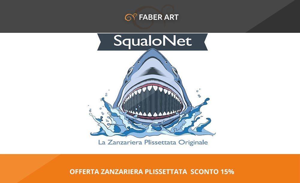 Offerta zanzariera plissettata squalonet for Detrazione zanzariere 2017