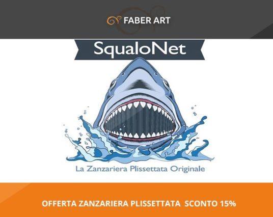 Offerta Zanzariere Squalonet Sconto del 15%