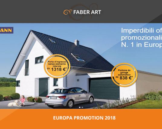 Imperdibile Offerta su Portoni Sezionali Hormann Europa Promotion 2018
