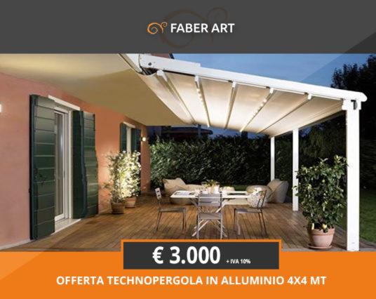 OFFERTA!!!!! Pergola in alluminio a soli € 3.000