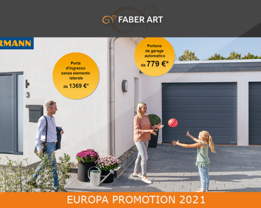 Europa Promotion 2021 Imperdibile Offerta su Portoni Sezionali