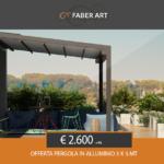 OFFERTA!!!!! Pergola in alluminio a soli € 2.600